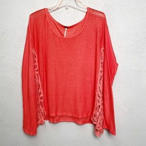 Free People Long Sleeve Shirt Size M